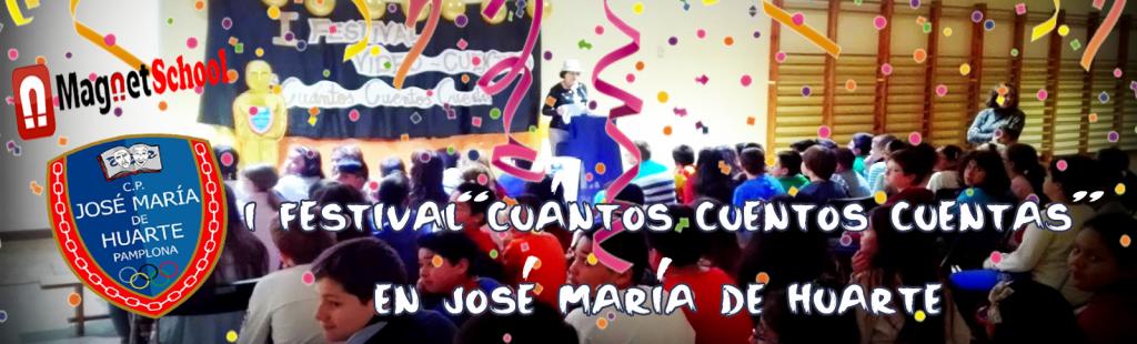 """I Festival del vídeo-cuento """"Cuántos Cuentos Cuentas"""" en José María de Huarte"""