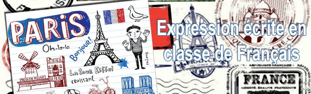 Expression écrite en classe de Français