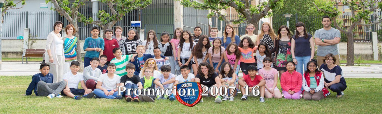 Despedida del alumnado de sexto – Promoción 2007-16