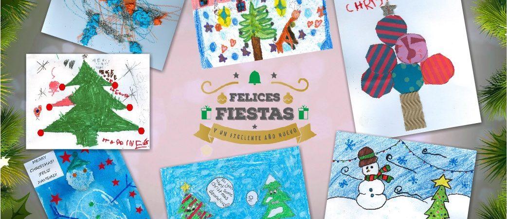 Felices Fiestas, a Joyful Christmas, un Joyeux Noël el une Bonne Année